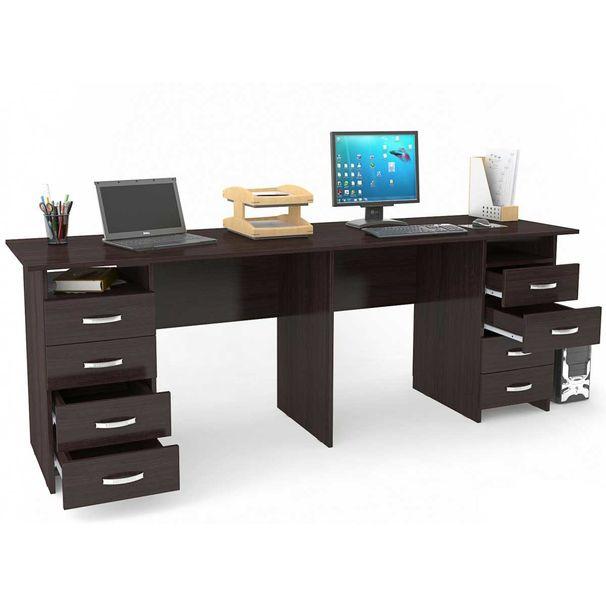 фото компьютерный стол на два рабочих места что вам